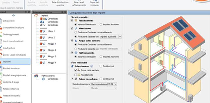 EC700 Calcolo prestazioni energetiche degli edifici – Nuova Versione