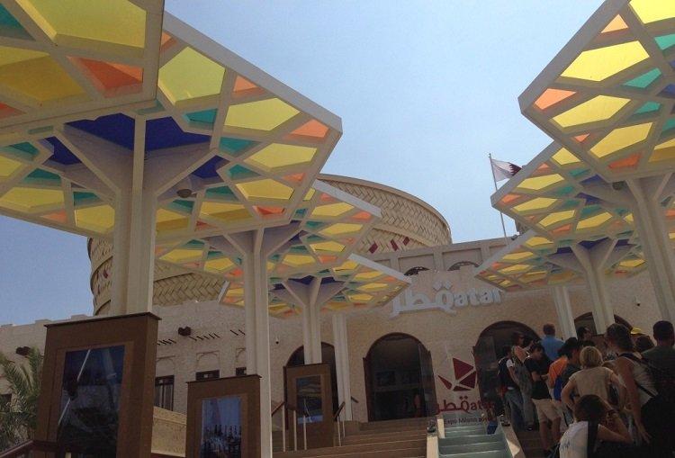 Il padiglione del Qatar per Expo Milano