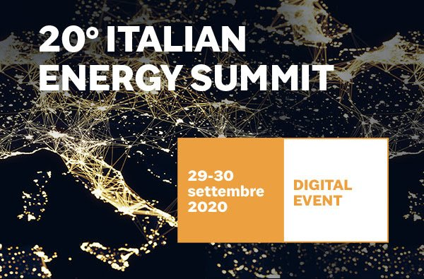 29-30 settembre 2020 Italian energy summit