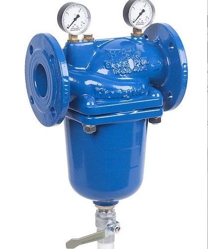 Filtri autopulenti flangiati per alta domanda d'acqua