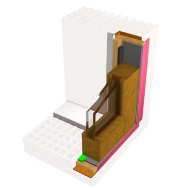 Berner Energy System garantisce una posa qualificata dei serramenti e ottime prestazioni