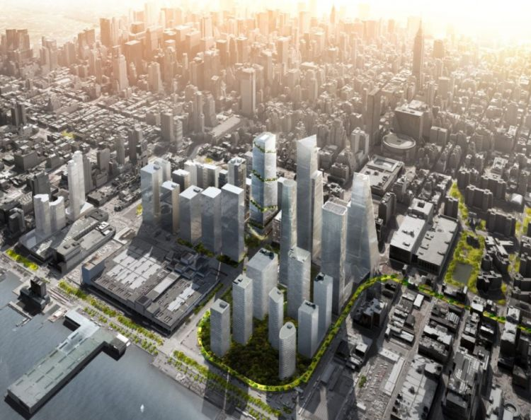 The spiral, la torre green di New york