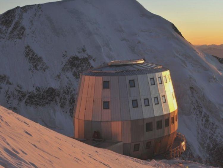 Il rifugio del Goûter sul Monte Bianco autoproduce energia