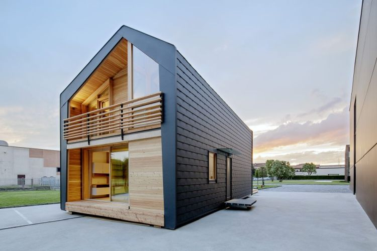 LeapHome èun'abitazione contemporanea pratica, trasportabile e leggera