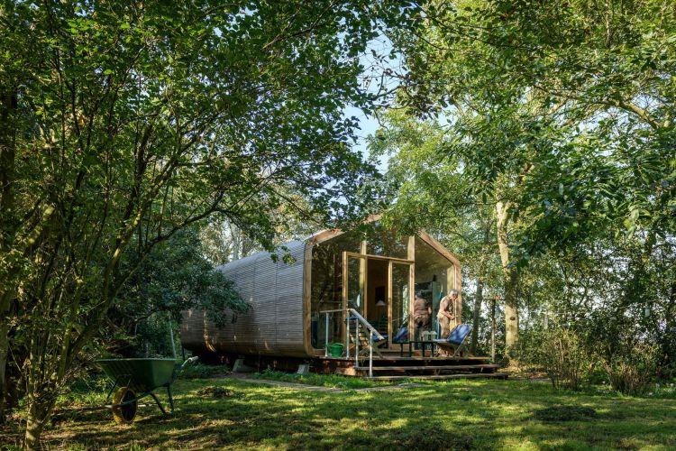 Wikkelhouse, la mini casa di cartone