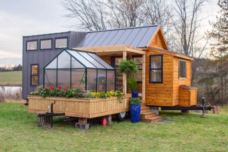 Elsa, la mini casa per gli amanti del giardinaggio