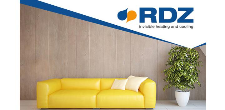 Sistema radiante a pavimento Super D di RDZ: compatto, efficiente e resistente