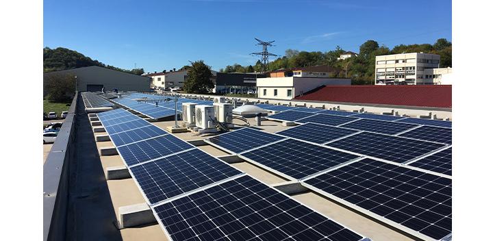 Strutture per fotovoltaico su coperture piane
