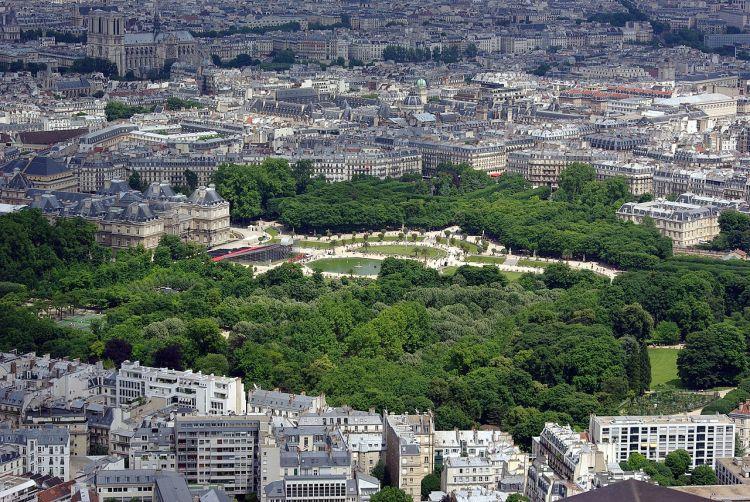 Giardini del Lussemburgo a Parigi