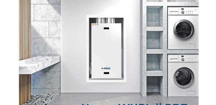 Unità di ventilazione meccanica a parete semplice ed efficiente