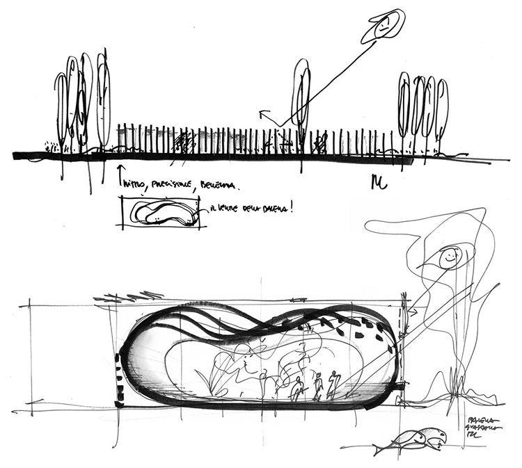 Asilo nido a Guastalla, i disegni di Mario Cucinella