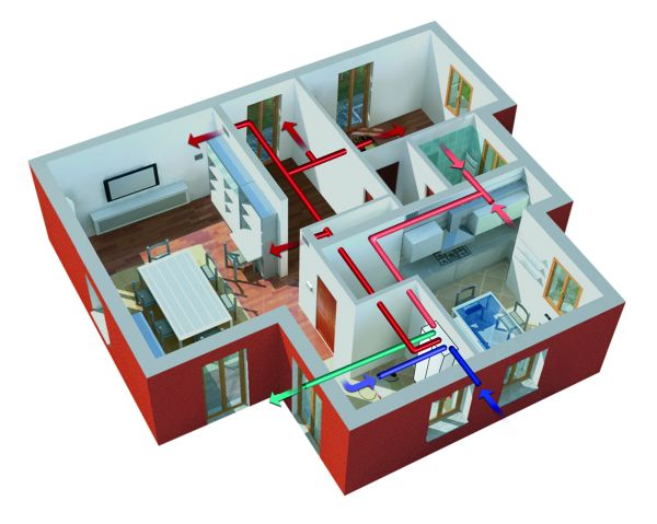 A Klimahouse novità  Clivet  per il residenziale monofamiliare ed il social housing