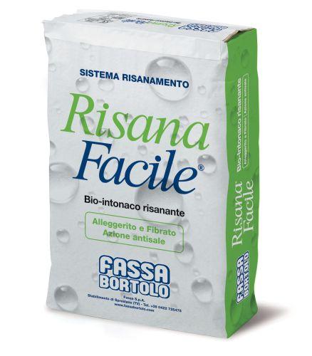 RisanaFacile®, nuovo bio-intonaco per interni ed esterni