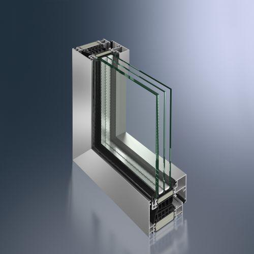 Finestra Schüco AWS, efficienza energetica, design e facilità di installazione