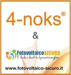 Nuova partnership tra Fotovoltaico-Sicuro.it e 4-noks®