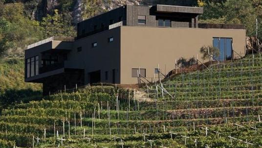 Hoval per rispettare i criteri CasaClima Wine delle Cantine Pfitscher