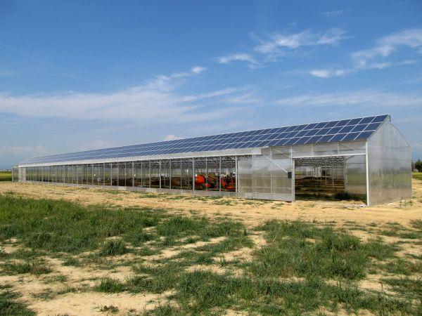 Serra fotovoltaica a Buronzo realizzata con Inverter SMA