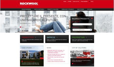Un nuovo sito per Rockwool