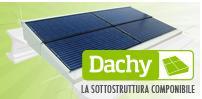 DACHY, sottostruttura componibile per il fotovoltaico integrato innovativo