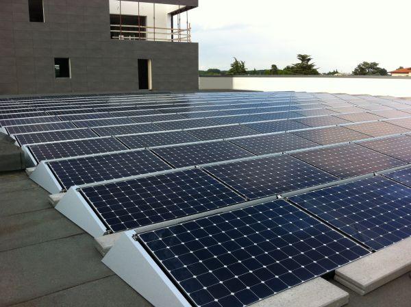 Nuovo impianto fotovoltaico Veneta Impianti