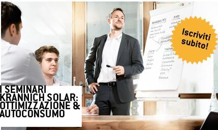 Ottimizzazione e autoconsumo, le soluzioni Krannich per il fotovoltaico