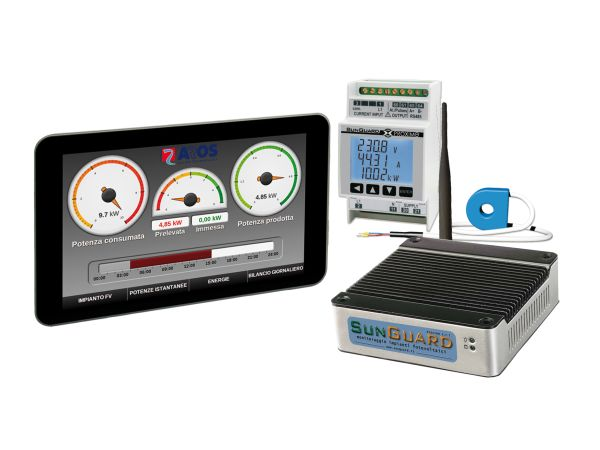 SunGuard Energy Touch, monitoraggio e gestione dei consumi in un'unica soluzione