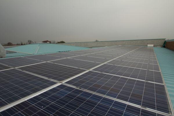 Impianto su tetto nel centro sportivo di Gorgonzola