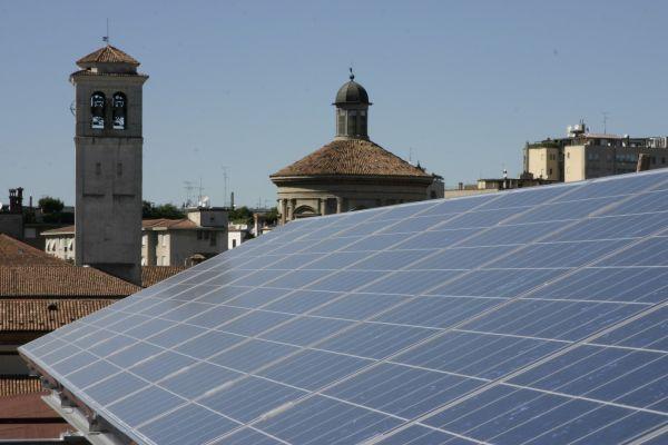 impianto fotovoltaico Museo Nazionale Scienza Tecnologia