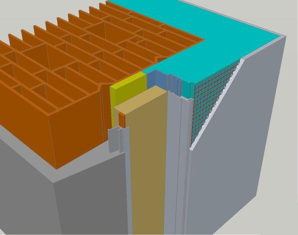 Serramento energeticamente efficiente grazie al TermoTelaio ISOLA™