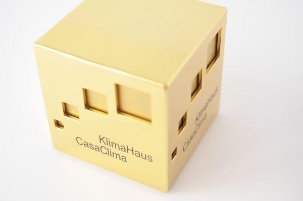 Cubo d'oro CasaClima per Le albere di trento