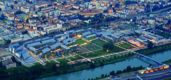 Il quartiere ecosostenibile Le Albere di Trento