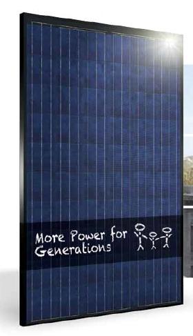 Vision, nuova gamma di moduli fotovoltaici vetro/vetro