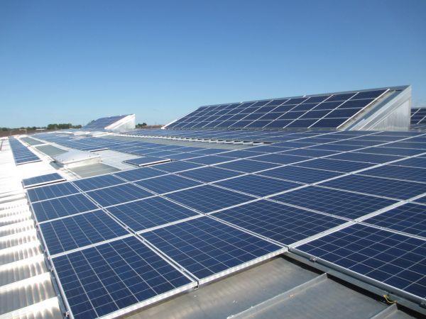 Impianto fotovoltaico multi-sezione per Diffusione Tessile di Cavriago