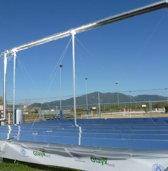 Impianto solare innovativo al CUS