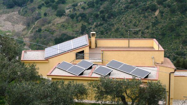 Fotovoltaico Satriano totalmente integrato