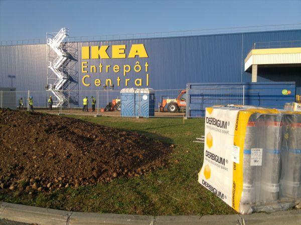 Derbigum per impianto fotovoltaico all'Ikea di Lione