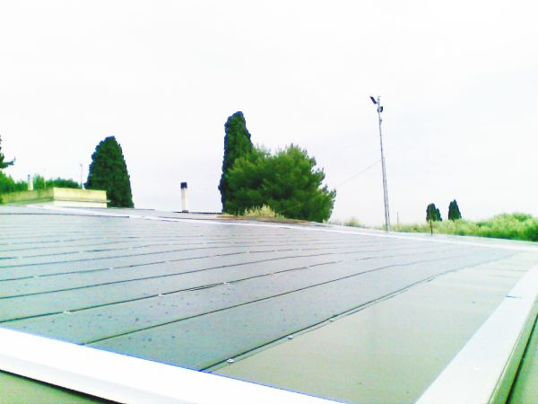 Impianto fotovoltaico per l'azienda agricola Frasca con inverter SMA