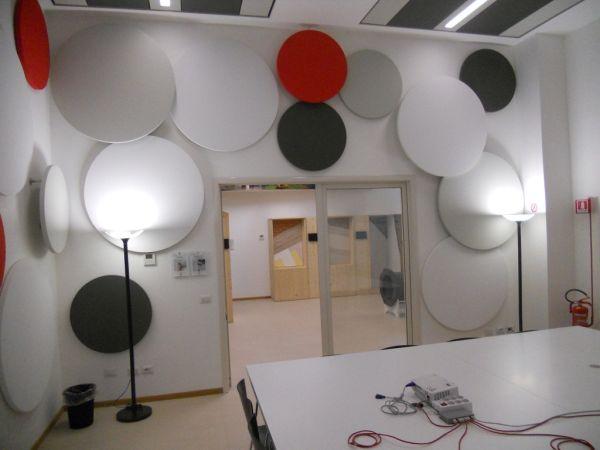la sala acustica dell'Habitat Lab