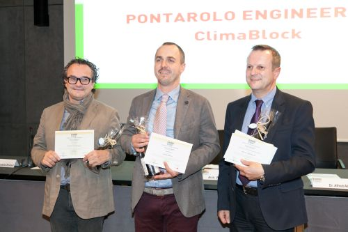 "Climablock vince il Klimahouse Trend 2013 nella categoria ""involucro opaco"""