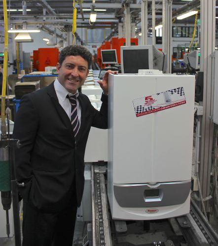 Nuovo traguardo produttivo: 5 milioni di caldaie vendute
