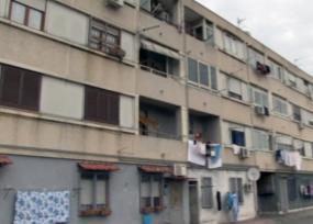 progetto europeo ELIH-Med situazione attuale palazzo a Frattamaggiore