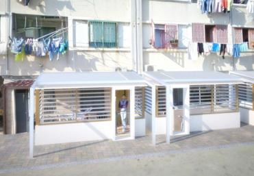 progetto europeo ELIH-Med, rendering palazzo a Frattamaggiore