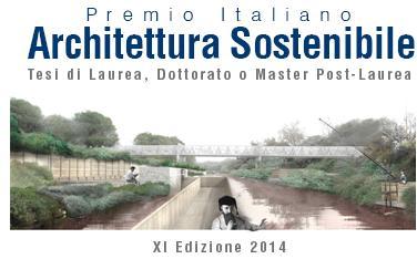 Premio Internazionale Architettura Sostenibile 2014