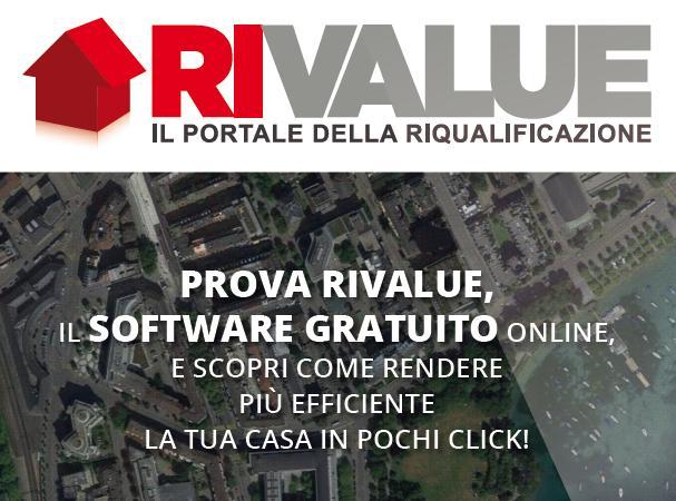 Nuova versione per www.rivalue.it, portale per la riqualificazione energetica
