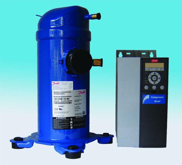 DANFOSS REFRIGERATION  – Compressori con inverter VZH