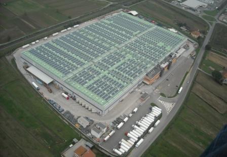 Solon firma il nuovo impianto fotovoltaico per il gruppo Conad del Tirreno