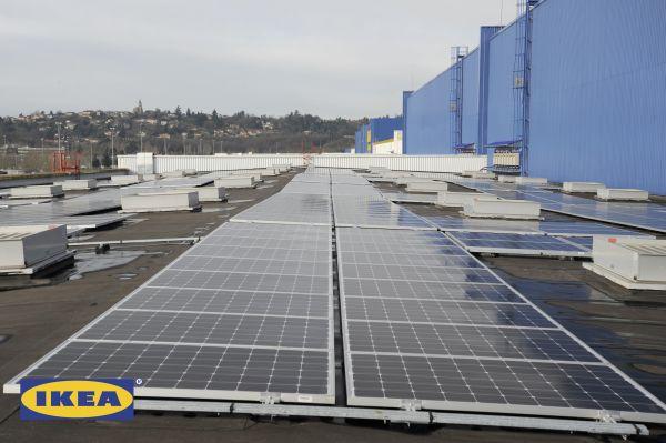 Derbigum firma l'impianto fotovoltaico dell'Ikea di Lione