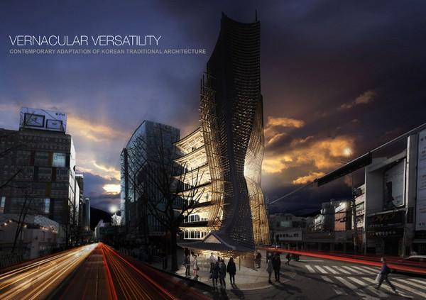 Progetto Vernacular Versatility Skyscraper Competition