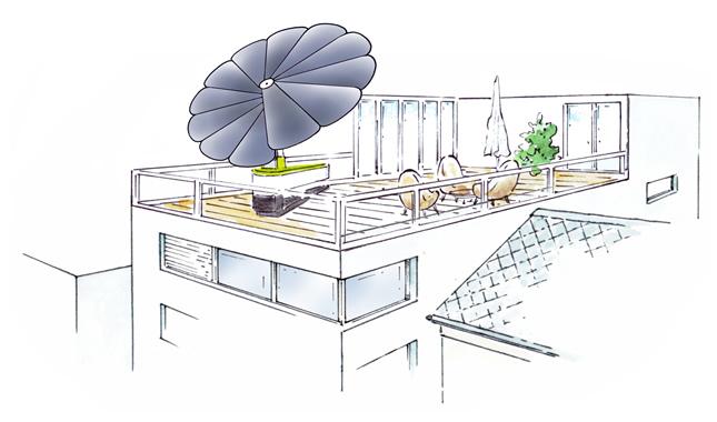 Smartflower, fotovoltaico e design