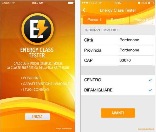 Una APP gratuita per scoprire l'efficienza energetica della propria abitazione